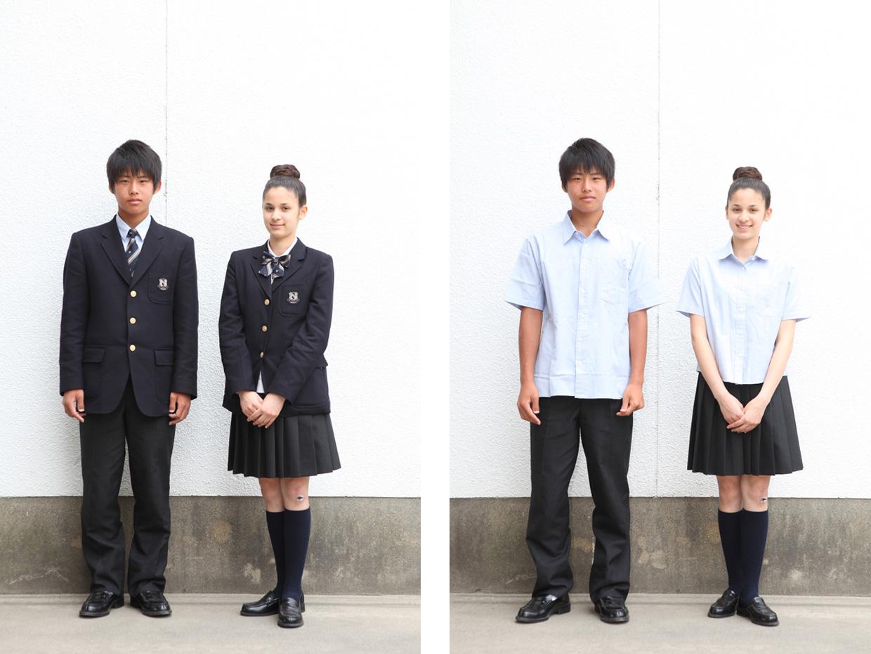 誠信高等学校制服画像